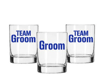 Team Groom Decal, Bachelor DIY Decal, Groomsman Gift, Wedding Decal, Team Groom Sticker, Beer Mug Decal, Bachelor Party Decal, Best Man Gift