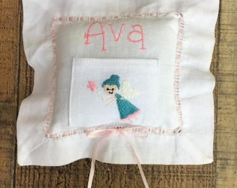 Personalized Toothfairy Pillow