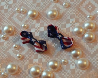 July 4th Baby Hair Clip