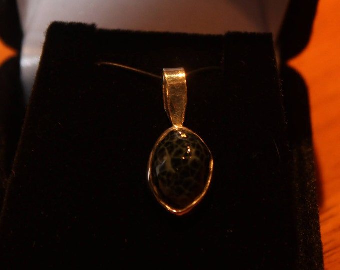 Chlorastrolite Greenstone Ring GN:51