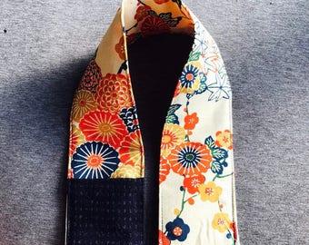 Camera strap cover kimono