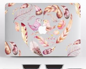 Birds Feather Macbook Pro 13 MacBook 15 Macbook Pro MacBook Air 13 MacBook Decal Laptop Decal Vinyl MacBook Decal MacBook Sticker DR075