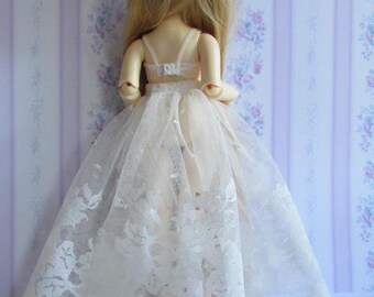 FREE SHIPPING - Petticoat - Yosd Reina Aileen LittleFee BJD