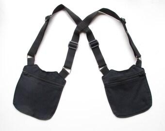 Unisex Black/Total black unisex HOLSTER bag Holster Bag