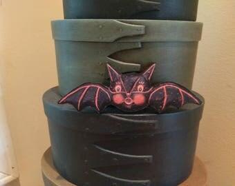 Retro Wood Bat Cutout