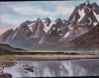Raftsund, Norway. ~ Vintage  Postcard. ~ UnPosted ~  1900's ~ Valentines