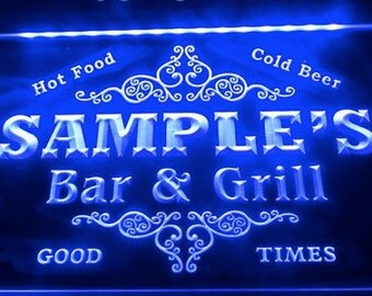 Personalized Sign Custom Name Neon LED Decor For Home Bar Man Cave Business Bar Grill