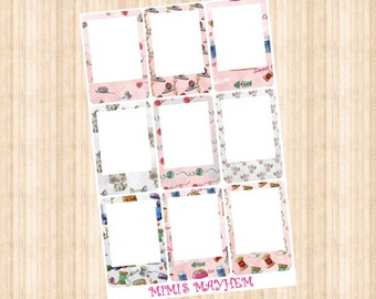 Kitty FRAMES // Happy Planner // Erin Condren // Personal