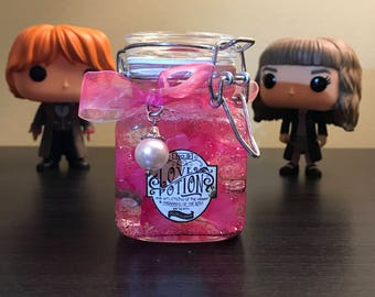 Harry Potter inspired Love Potion No. 9 (SMALL - 3 inches x 2 inches)