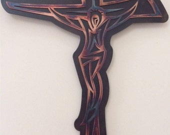 Modern Jesus on the Cross