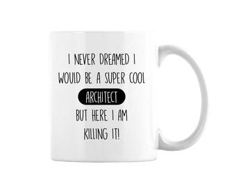 Architect Coffee Mug, Architect Gift, Gift For Architect, Coworker Gift