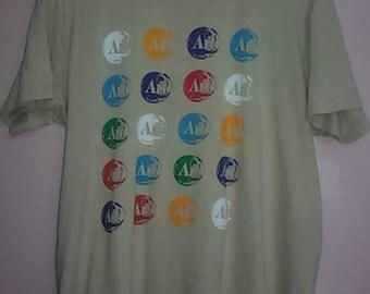 Vintage Andy Warhol X Uniqlo//TshirtDesigner//Size L  USD 25