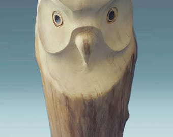 Wooden gift owl, wooden owl, wood carved owl, wood sculpture, wooden owl sculpture, wood carving, carved owl, wood owl, wooden souvenir