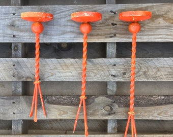 Vintage Garden Candle Stakes Hose Guards