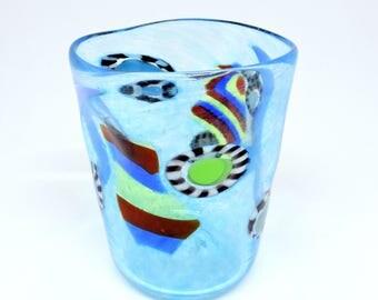 """Venetian Glass goto glass in Murano, handmade in the furnace; Murano Glass Original """"goto"""""""