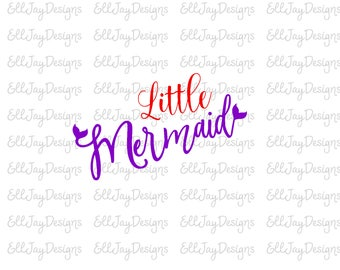 Mermaid svg, Little Mermaid svg,mermaid tail, silhouette cut file, cricut cut file, mermaid svg, summer svg, beach svg, ocean svg, cut files