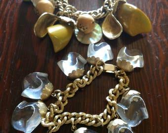 Choice of Vintage Charm Bracelets - 1960s