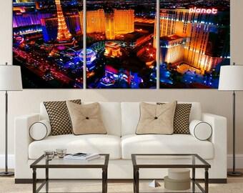 Las Vegas Wall Art las vegas casino | etsy