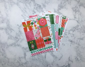 Erin Condren Weekly Sticker Kit - Tinsel