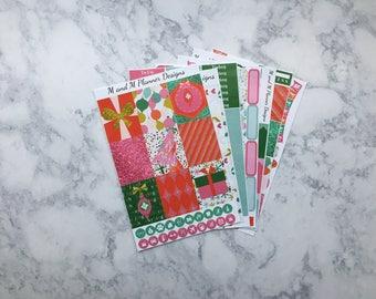 Erin Condren Weekly Sticker Kit - Tinsel