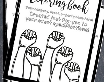 Create Your Own Custom Coloring Book!
