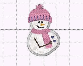 Pregnant Snowman 35