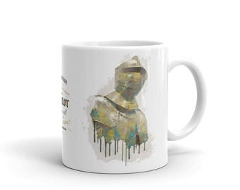 Golden Suit of Armor Mug | Knight | Gift Idea