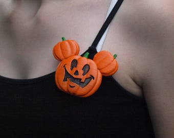 Mickey's Not So Scary Halloween Inspired Button (Free Shipping!)