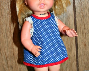 "Vintage 1967 Mattel Tiny Swingy Doll 10.5"" - Works"