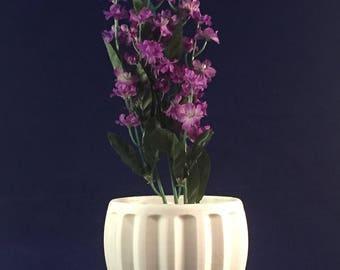 Design No. 4 - Fluted Flower Pot - 3D Printed
