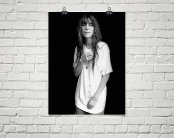 Patti Smith Poster, Premium Semi-Gloss Photo Paper Poster