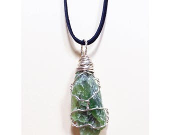 Handmade Jade Crystal Necklace