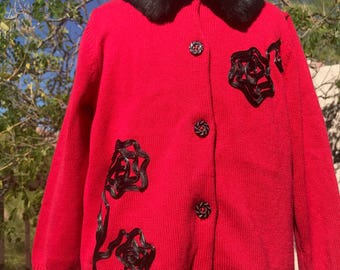 Vintage Toddler Hanna Anderson Sweater