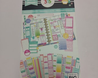 Create 365® The Happy Planner® Sticker Sheets, Productivity 540 NEW