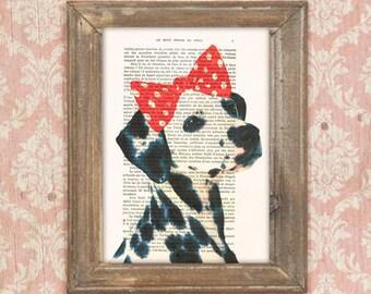 Dalmatian Print, Dalmatians, dalmatiannation, dalmatian spotlight,dalmatian puppy, dalmatian love, Dalmatian poster, Coco de Paris