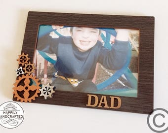 Custom Photo Frame - Personalised Title - Perfect for Father's Day