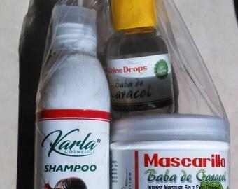 Baba de caracol free gift treatment