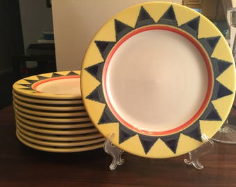 Dinner Plate in Salerno by Homer Laughlin