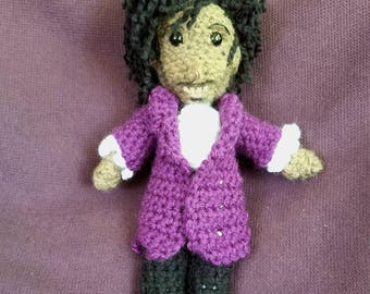 crAFty Characters: Prince doll // the Purple Rain, Musician Collection