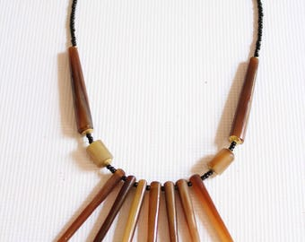 Beaded necklace - Kenyan necklace - African jewelry - Maasai necklace - African necklace - Statement necklace-Maasai beaded necklace
