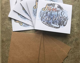 Cycling cards - Pack of 6