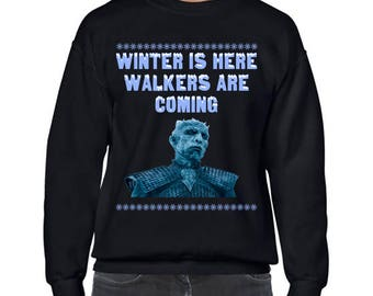 Game of Thrones, White Walkers, Ugly Christmas Sweater Party, Ugly Christmas Sweater, Ugly Sweater Party, Game of Thrones Christmas Jumper