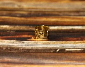 Antique Gold Ear Cuffs
