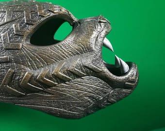 Black Panther ceremony mask helmet