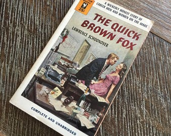 The Quick Brown Fox by Lawrence Schoonover (Bantam, 1953) 1178