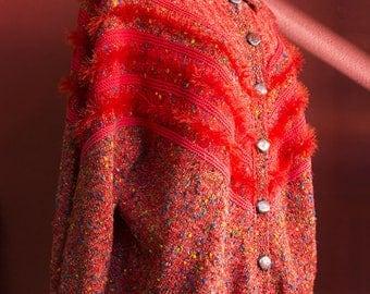 Vintage Italian 80's handmade sweater