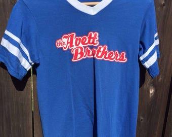 Small Unisex Avett Brothers T-shirt UEC Blue Grass Indie Rock 50/50 Soft