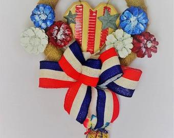 American Heart Wreath