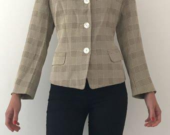 Women's Vintage Blazer / Jacket, Women's L, 1980s-1990s Style