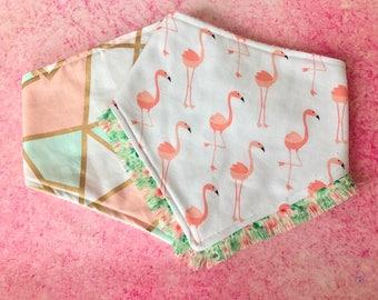 Bandanna bibs, drool bibs, Organic baby bibs, Organic bamboo, Organic baby gifts, baby shower gift, gift set